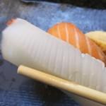 寿司割烹 海王 - イカ、甘い