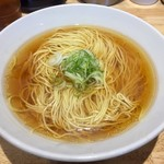 ふる川 - 料理写真:かけそば醤油(大盛)