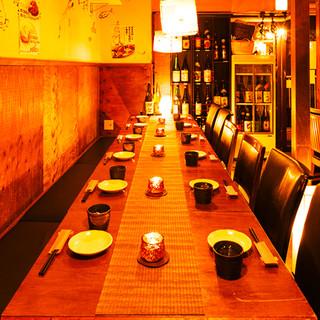 寛ぎの和空間は様々な用途で対応可能!貸切宴会も大歓迎です♪
