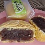 三河屋 - 料理写真:香ばしい皮と上品な甘さの粒あんの味わいを楽しめます♪