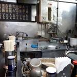 中華そば 高はし - 厨房