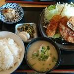 五右衛門 - 料理写真:メンチカツ定食