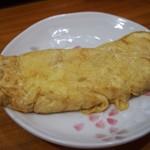 長谷川 - 焼そば定食(卵焼き)