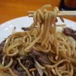 長谷川 - 焼そば定食(焼そばの麺)