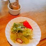 オアシス - サラダ、デザート