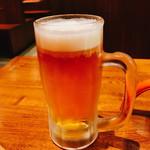 焼肉ここから - 「オリオンビール(480円)」
