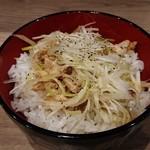 96137714 - ミニネギチャーシュー丼