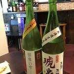 地酒と釜飯の店 森 -