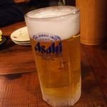 樽八 - 生ビール