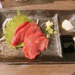 元気 - 料理写真:桜肉刺し