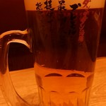 nikujirugyouzanodandadan - 生ビール
