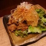 nikujirugyouzanodandadan - パリパリ油淋鶏