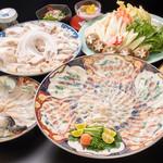 日比野 - 料理写真:とらふぐコース