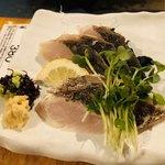 魚寅 - 鰆のたたき 480円
