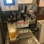 丸亀製麺 - ビール、レモンハイ、ハイボールサーバー