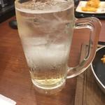 丸亀製麺 - 焼酎ロック