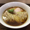 らぁめん サンド - 料理写真: 鶏そばワンタン麺