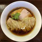 らぁめん サンド -  鶏そばワンタン麺