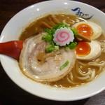 麺や 紡 - 熟成ラーメン+玉子