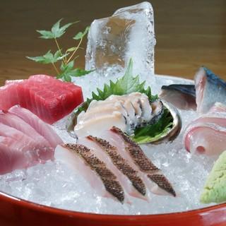 地魚造り盛合せ