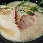 ダイナsoul - 地鶏 中濃 鶏白湯らーめん