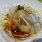 Chinese Restaurant Season - 帆立と豆腐のガーリック蒸し