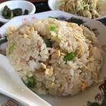 中国料理 福興 - タンタンメン+半チャーハン定食890円
