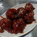 春川鶏カルビ - ヤンニョムチキン