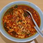 中華料理 たんたん - たんたんメン メチャ辛(8倍)・にんにく増し