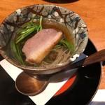 旬味食彩 佳乃 - せり鍋椀