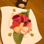 味登 - お刺身3種♬︎ 1280円