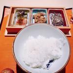白金にし田 - 【食事】○土鍋炊きご飯様