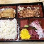かねまつ食堂 - 料理写真:日替り800円税込み