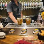 クラフトビールタップ グリル&キッチン - ボトムスアップを見学!