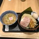 舎鈴 - 味玉つけ麺