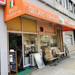96159964 - 老舗感あふるる佇まい。。。店内は写真がたくさん貼られていて、イタリアの風が吹く!!