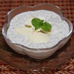 タイ料理亜路居亭 - タピオカとココナッツミルクのデザート