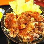 和牛焼肉丼のいち - カルビ丼セット