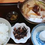 キッチンめぐみ - 料理写真:肉鍋定食