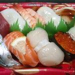 宅配寿司 茶月 - 季節のにぎり