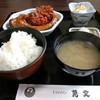 魚文 ドライブイン - 料理写真:鯉のうま煮定食、時価。鯉、蜆と地のもの三昧。