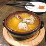 ビストリア - 牡蠣のアヒージョ