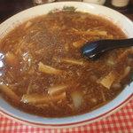 台湾酒菜 香満楼 - 特製酸辣湯麺