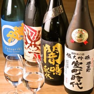 酒通も思わず唸る!普通のお店では味わえない日本酒ラインナップ