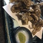 和食あおやま - もずくの天ぷら