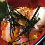 和食あおやま - 海鮮バラちらし  アップ