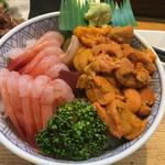 96173515 - 甘エビウニ丼