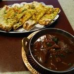 本格インド料理アシス - ブラックカレー&バチャクチャナン