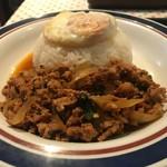 東銀座のタイ国屋台食堂 ソイナナ - ご飯はボリューミー