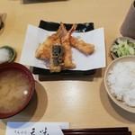 96176059 - 上天ぷら定食かき揚げ付き